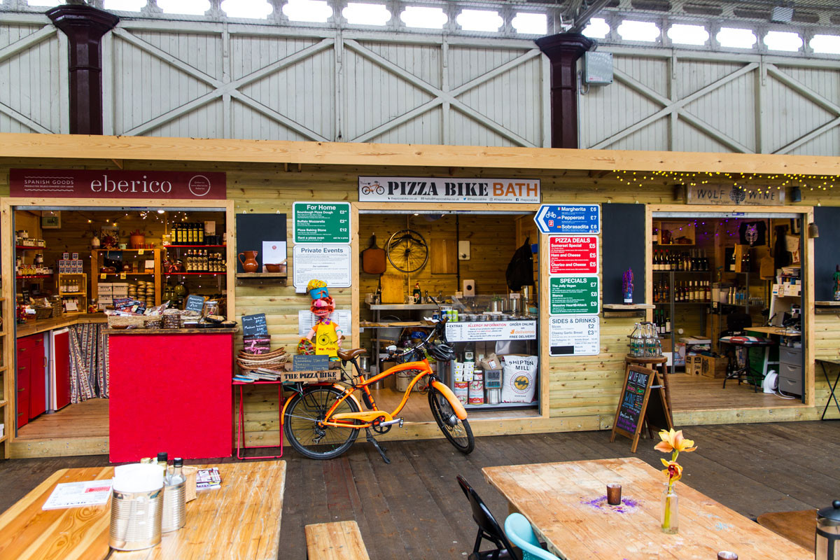 The Pizza Bike Bath Green Park Statiion