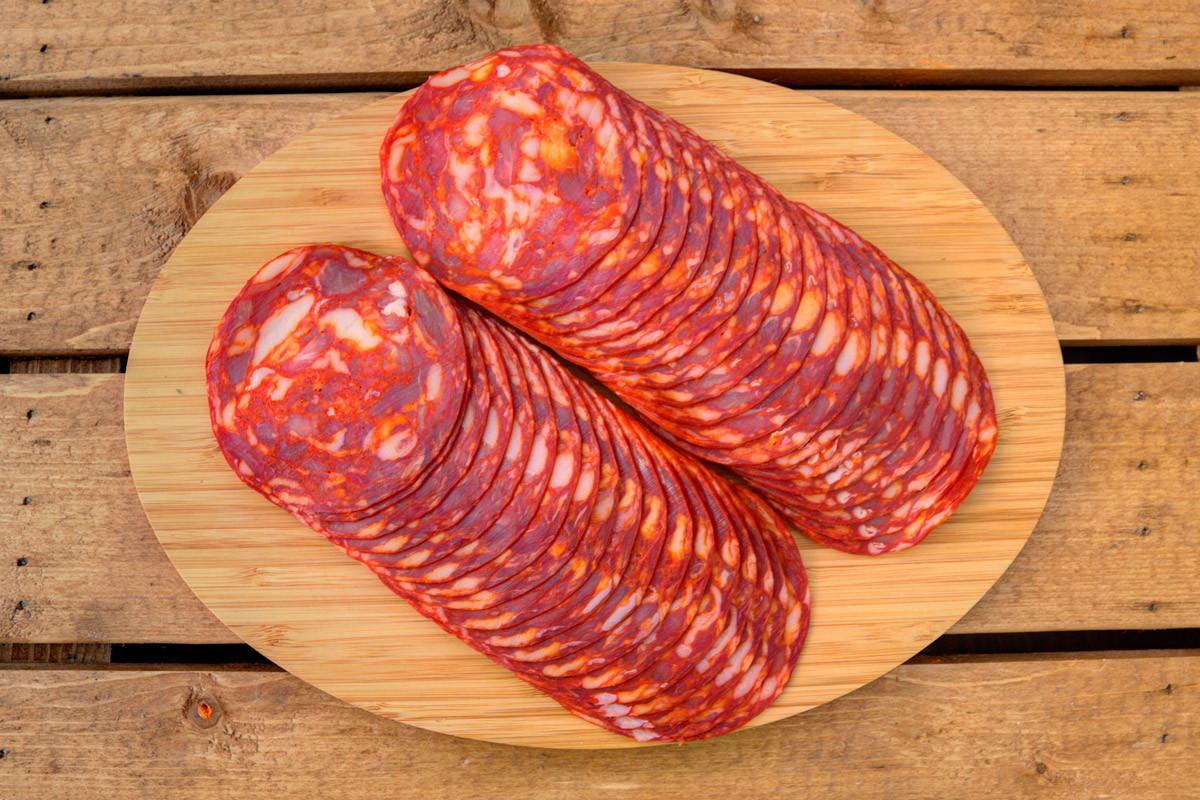 Casademont Chorizo Extra #thepizzabike