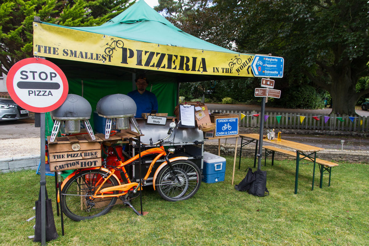 the pizza bike v3.0 powered by Roccbox