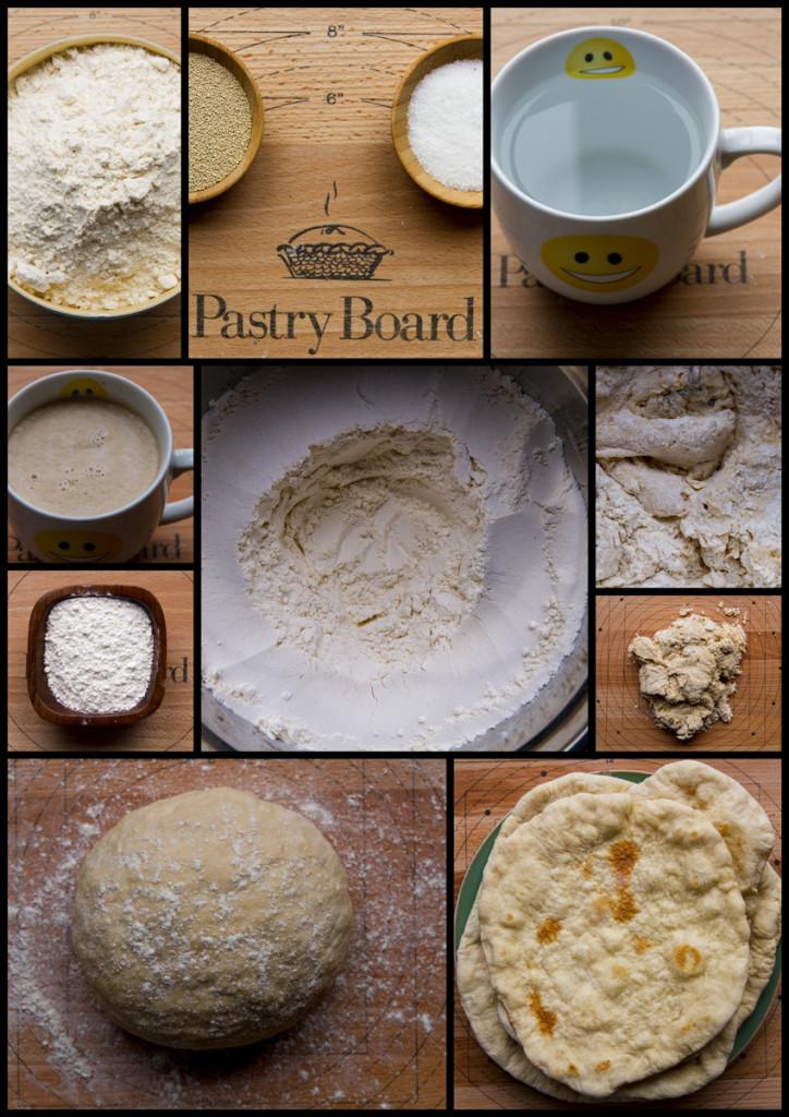 500g flour Simple dough