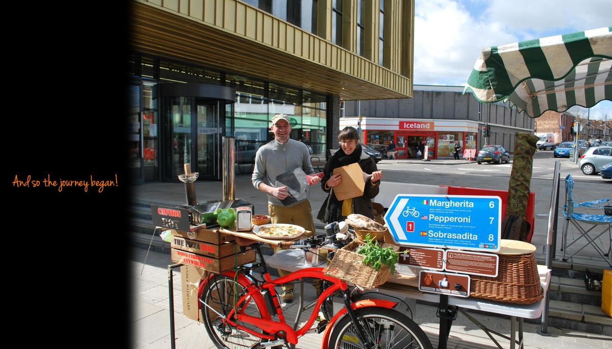 The Pizza Bike #pizzabike #thepizzabike