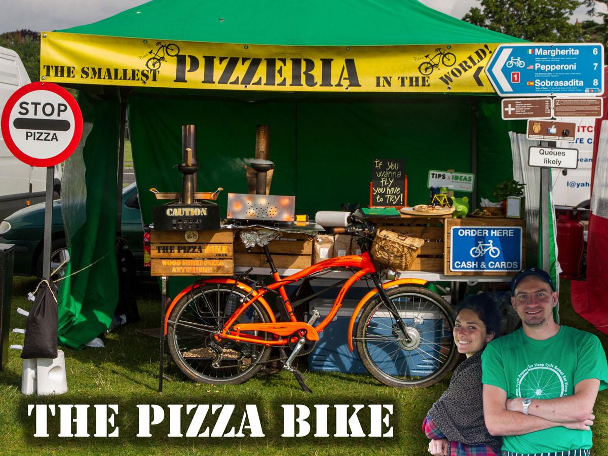 The Pizza Bike Kickstarter