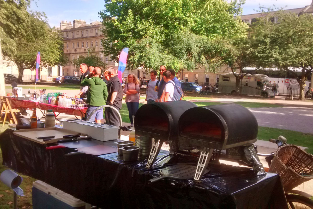pizza-bike-corporate-party-bath-queen-square
