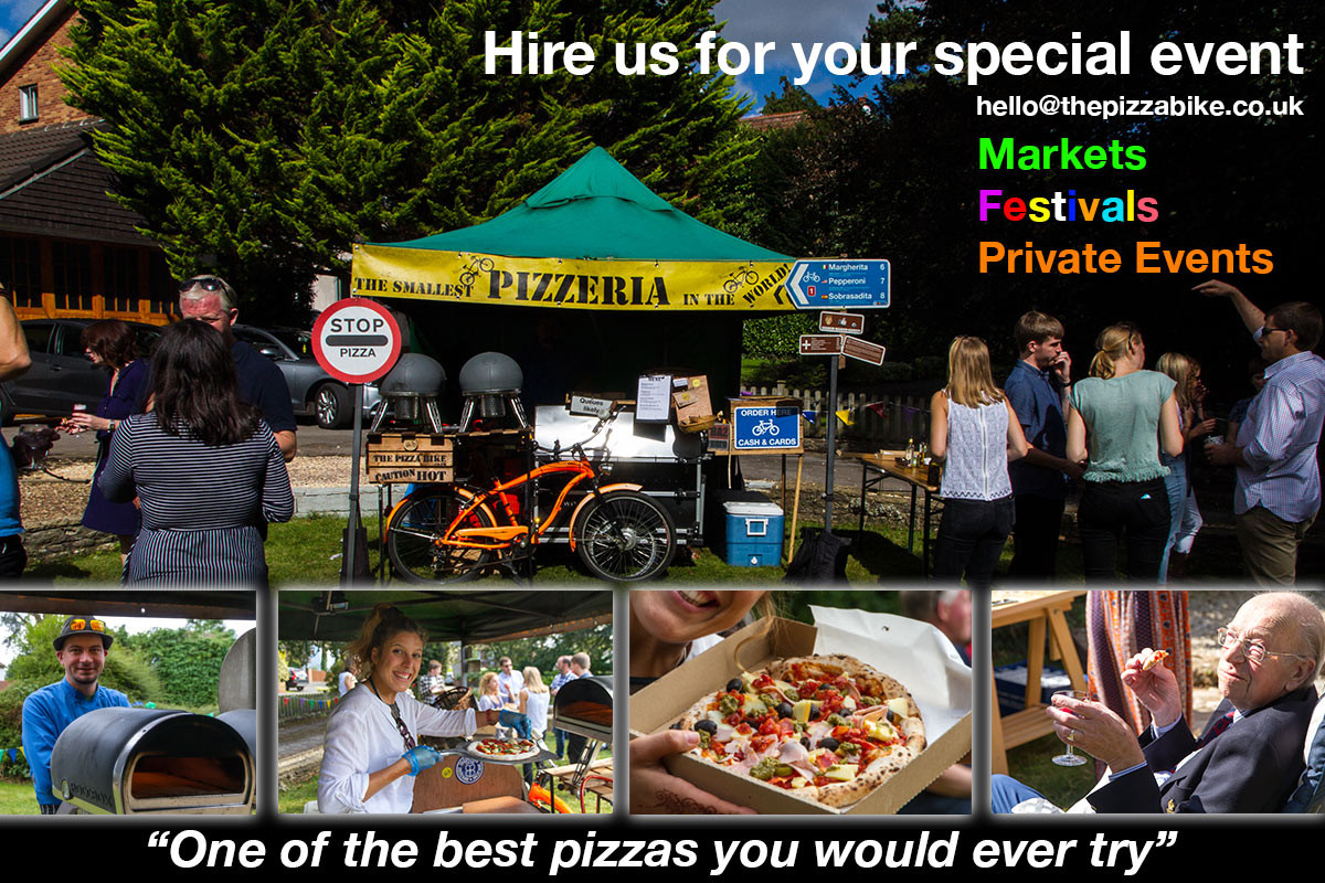 the pizza bike private events bath brstol